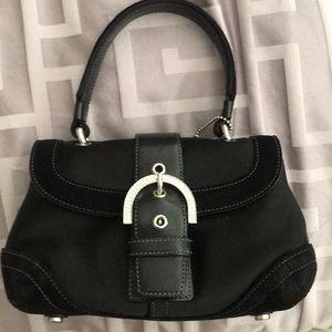Mini vintage Coach evening clutch & bag